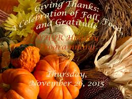 giving thanks a celebration of fall food and gratitude whqr