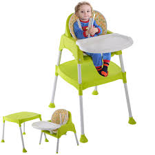 3 in 1 convertible baby high chair feeding seat high chairs