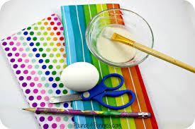 paper easter eggs easy tissue paper easter eggs