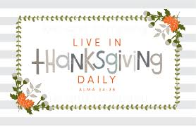 live in thanksgiving daily company