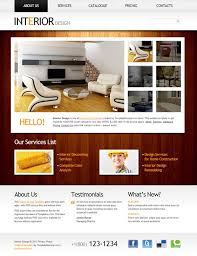 interior design has xhtml u0026 css valid it has several pages about