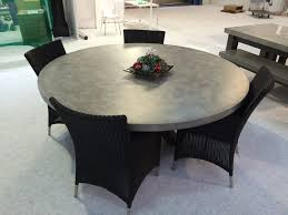 Concrete Dining Room Table Beton 180cm Polished Concrete Round Dining Table U2013 Woodstock
