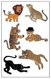 amazon com premium big cat tattoos lion cheetah tiger jaguar