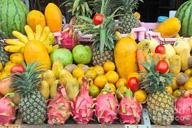 fruit displays tropical fruit display photograph by roberto morgenthaler
