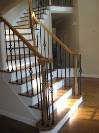 Iron Banister Spindles How To Install Wrought Iron Balusters Crowdbuild For