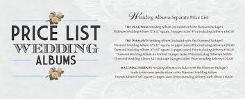 Wedding Album Cost 100 How Much Does A Wedding Album Cost Everything You Need