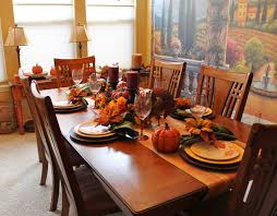 southern seazons thanksgiving dining room table