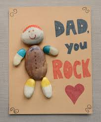dad rocks father u0027s day craft play cbc parents