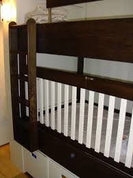 Crib Loft Bed Crafted Bunkbed Crib By Endless Design Custommade