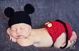 Newborn Baby Boy Halloween Costumes Lil Alexis Boutique Adorable Infant Boy Crochet Mickey
