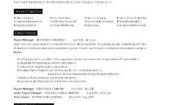 construction project manager resume sample field facilities