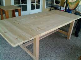 Dining Table Building Plans White Farmhouse Dining Table Diy Projects