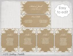 how to make table seating cards seating chart template rustic lace printable seating chart cards