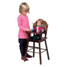 High Chair Toy Guidecraft Doll High Chair Espresso Hayneedle