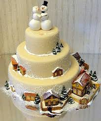 Christmas Cake Decorations Pinterest by 75 Best Winter Snow Cakes Images On Pinterest Christmas Cakes