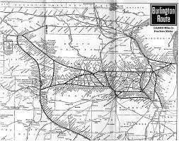 Illinois Railroad Map by Cb U0026q