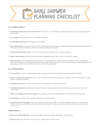 wedding shower registry checklist photo baby shower planning checklist image