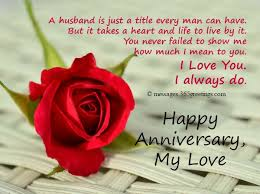 luxury wedding anniversary messages to my husband with anniversary