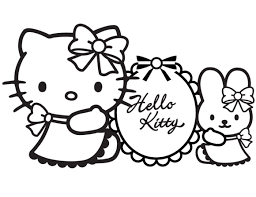 hello kitty coloring sheets christmas coloring pages for kids
