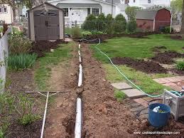 backyard drainage design backyard and yard design for village