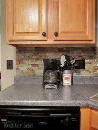 picture of kitchen backsplash kitchen backsplash how to nest for less