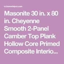 masonite textured 6 panel hollow core primed composite interior