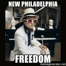 Meme Philadelphia - new philadelphia freedom elton john meme generator