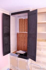 Built In Cabinets Plans by Remodelaholic Built In Closet Hack