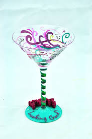 birthday martini online shop happy 40th birthday handpainted 200ml cocktail glass