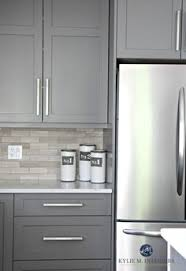 Gorgeous And Bright Light Gray Kitchens Light Grey Kitchens - Gray kitchen cabinets