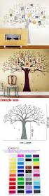 best 25 family tree wall sticker ideas on pinterest wall family tree wall decal tree wall sticker home decor living room wall art decor warm home decoration of choice size 203 x 241 cm