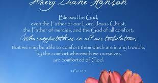 May The God Of All Comfort Gabriel U0027s Garden Avery U0027s Flower