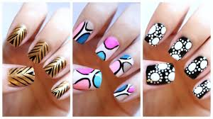 how to do nail art for beginners how you can do it at home video