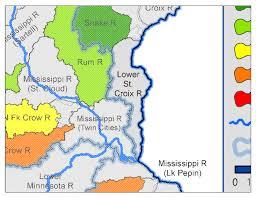 St Croix Map Lower St Croix River Watershed Minnesota Nutrient Data Portal