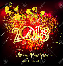 happy new year s greeting cards happy new year 2018 greeting card and new year of the
