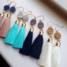 earrings diy best 25 tassel earrings ideas on how to make tassels