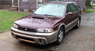 burgundy subaru legacy 1999 subaru legacy outback limited detailed overview youtube
