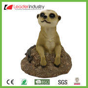 china polyresin meerkat garden ornaments from quanzhou
