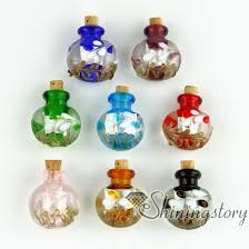 glass bottle necklace pendant images Small glass bottles for pendant necklacesempty vial jpg