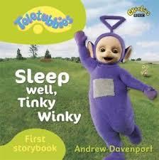 teletubbies sleep tinky winky bbc books board book book