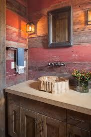 barn wood cabinets bathroom rustic with bathroom mirror bathroom