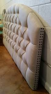 wall mounted upholstered headboard hollywood thing