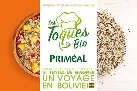 blogs de cuisine les toques bio priméal le concours de cuisine bio et veggie