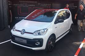 volkswagen up 2018 volkswagen up gti makes public debut at worthersee autocar