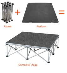 tent platform portable tent flooring eventdeck for synthetic turf tent and events