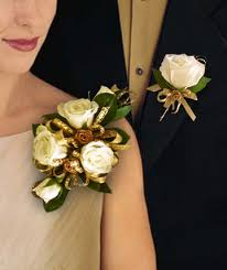 gold boutonniere corsages boutonnieres in pahrump nv at something special