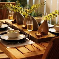 Casual Table Setting Design Tip Table Setting