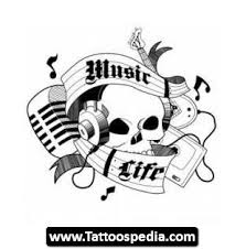 music tattoo designs for men 05 life tattoo sketches for men