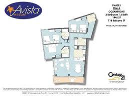 avista ocean resort floorplans