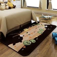 tapis de sol chambre bande dessinée grand enfant chambre de chevet tapis enfants tapis de